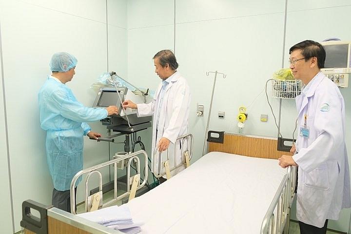 Bệnh viện Bệnh Nhiệt đới TP. Hồ Chí Minh được xét nghiệm Covid-19