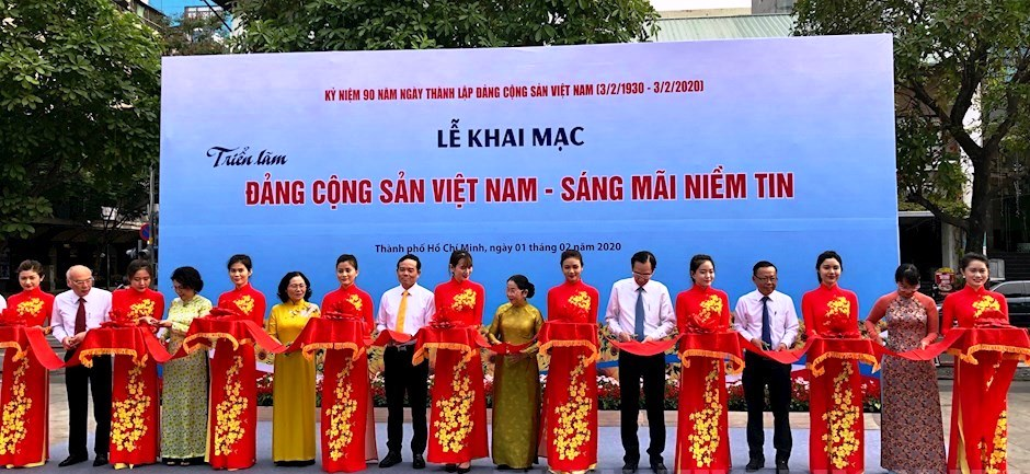 """Triển lãm """"Đảng Cộng sản Việt Nam - Sáng mãi niềm tin"""""""