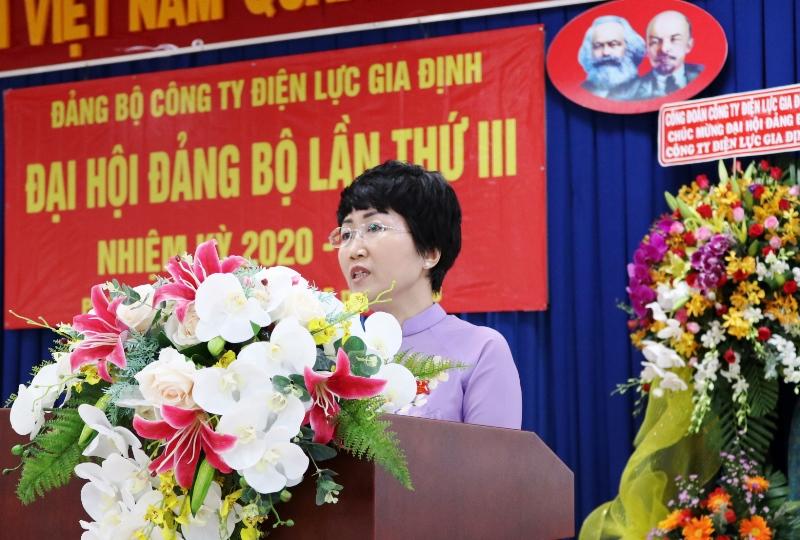 Đại hội đại biểu Đảng bộ Công ty Điện lực Gia Định bầu trực tiếp Bí thư