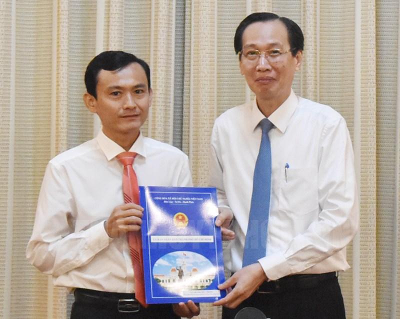 Bổ nhiệm Phó Giám đốc Sở Nông nghiệp và Phát triển nông thôn