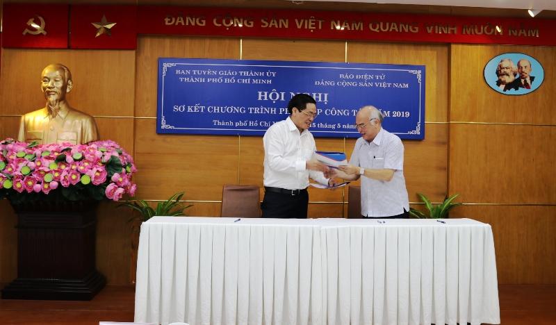 Đẩy mạnh tuyên truyền về TP Hồ Chí Minh trên Báo điện tử Đảng Cộng sản Việt Nam