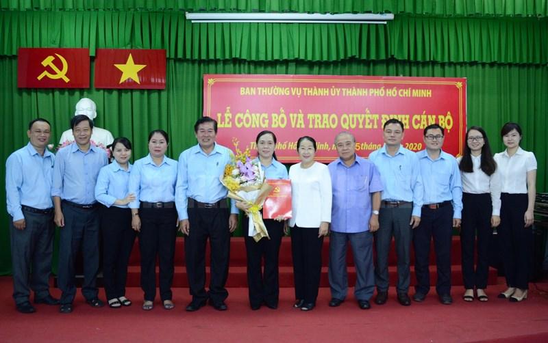 Trao Quyết định Tân Bí thư Đảng đoàn Hội Nông dân TP.Hồ Chí Minh