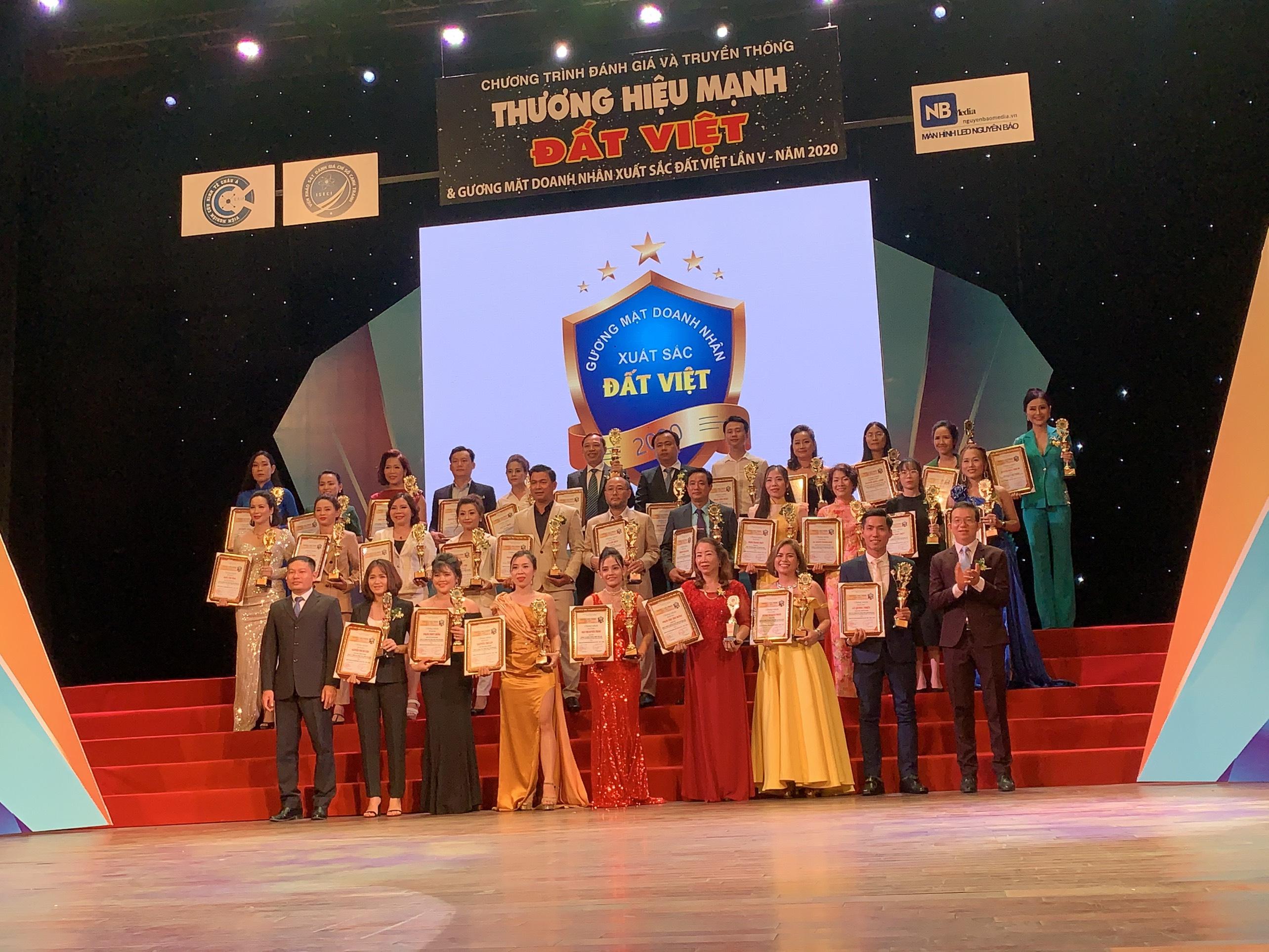 Tôn vinh Thương hiệu mạnh đất Việt lần thứ 5 năm 2020