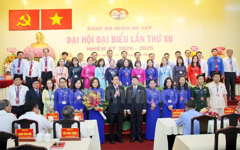 Đại hội Đảng bộ quận Gò Vấp thành công tốt đẹp