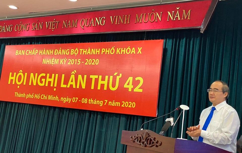 Bế mạc Hội nghị Ban Chấp hành Đảng bộ TP lần thứ 42
