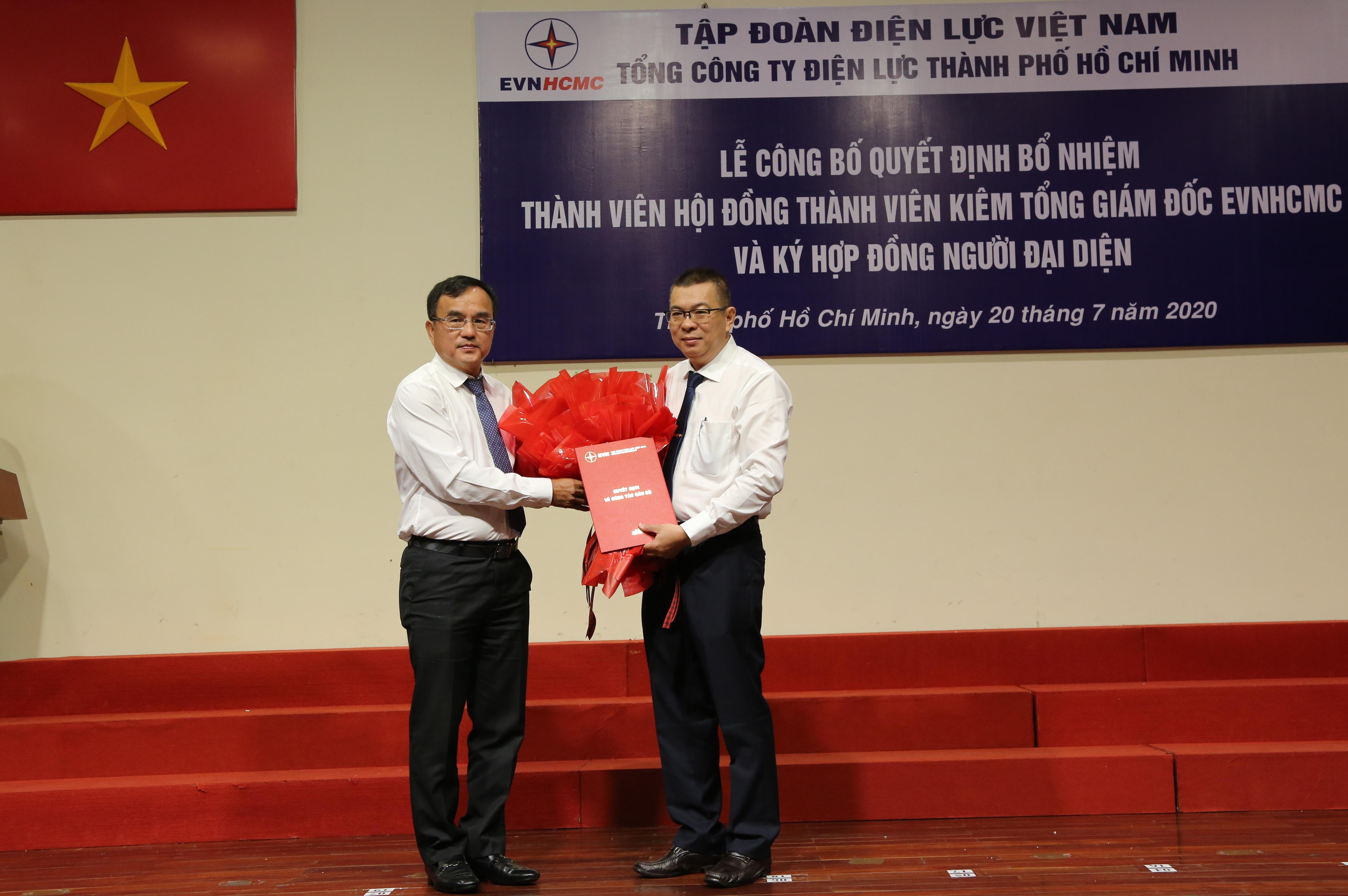Đồng chí Nguyễn Văn Thanh giữ chức Tổng Giám đốc EVNHCMC