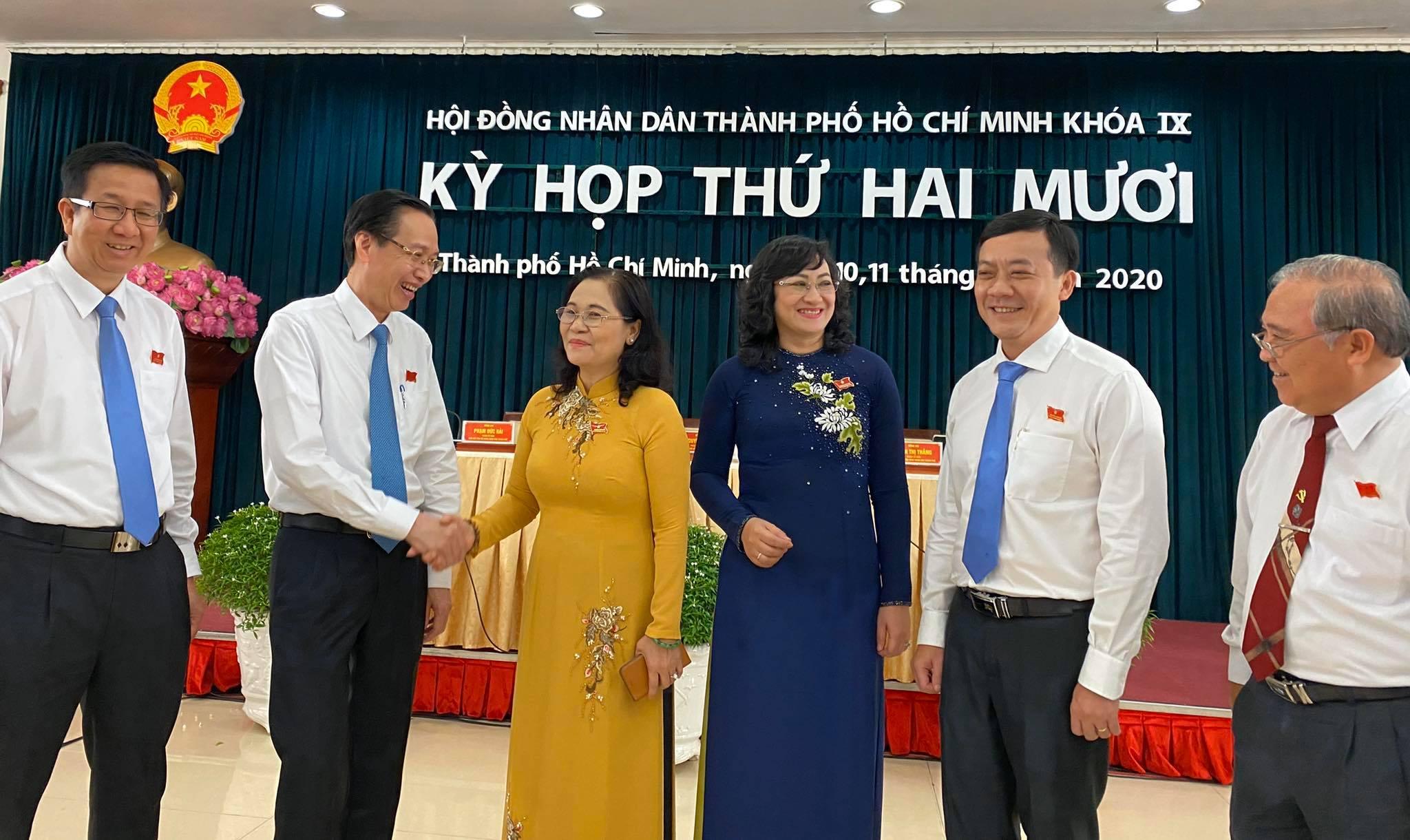 Khai mạc Kỳ họp thứ 20 HĐND TP Hồ Chí Minh, khóa IX