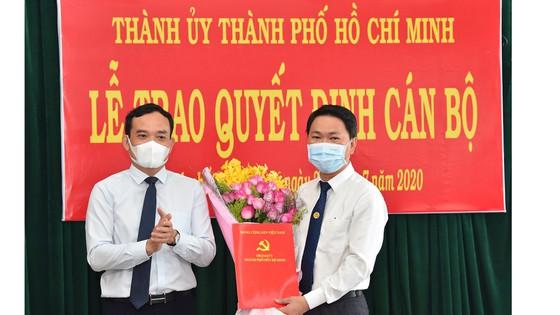 Đồng chí Trần Hoàng Quân giữ chức Bí thư Huyện ủy Bình Chánh
