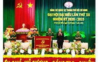 Khai mạc Đại hội đại biểu Đảng bộ Quân sự TP Hồ Chí Minh lần thứ XII