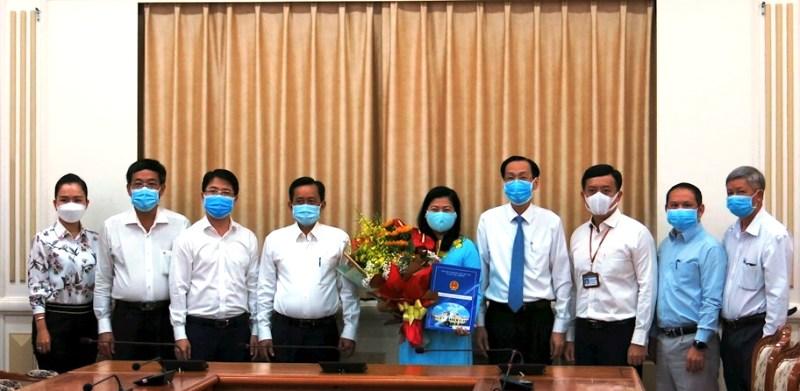 Trưởng Ban Tổ chức Quận ủy quận Phú Nhuận, giữ chức vụ Phó Giám đốc Sở Nội vụ TP