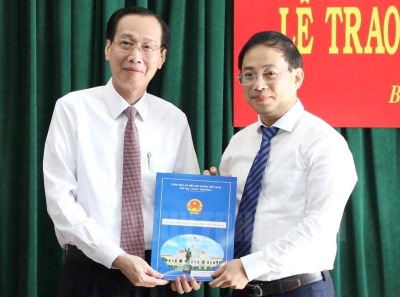 Đồng chí Đào Gia Vượng giữ chức Chủ tịch huyện Bình Chánh