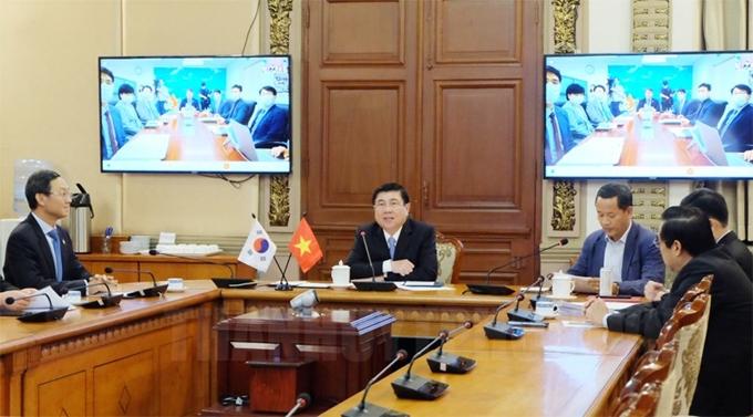 Tạo điều kiện cho doanh nghiệp Việt Nam - Hàn Quốc trao đổi, hợp tác