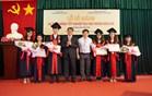 VOV College trao bằng tốt nghiệp đại học ngành Báo chí và phát động kêu gọi ủng hộ đồng bào miền Trung