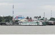 Chuyển phà 200 tấn từ Vàm Cống về TP Hồ Chí Minh