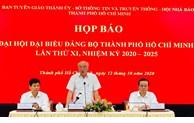 Ban Chấp hành Đảng bộ TP cảm ơn những góp ý của Nhân dân