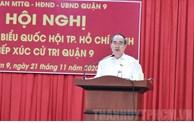 Đoàn ĐBQH TP Hồ Chí Minh tiếp xúc cử tri