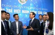 Bí thư Thành ủy Nguyễn Văn Nên dự khai mạc Diễn đàn Trí thức trẻ Việt Nam toàn cầu