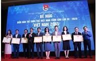 Bế mạc Diễn đàn Trí thức trẻ Việt Nam toàn cầu lần thứ III