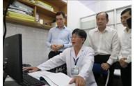 Đẩy mạnh phát triển hệ thống phần mềm quản lý thông tin trạm y tế