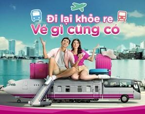Mua vé máy bay, vé tàu hỏa, xe khách dễ dàng trên Ví MoMo