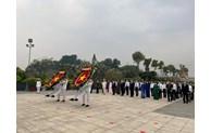 Lãnh đạo TP dâng hương tưởng niệm các anh hùng liệt sĩ nhân dịp Tết Tân Sửu