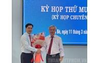 Đồng chí Triệu Đỗ Hồng Phước làm Phó Bí thư Huyện ủy, Chủ tịch UBND huyện Nhà Bè