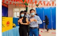 Cử tri TP Hồ Chí Minh hân hoan đi bỏ phiếu