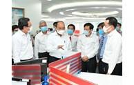 Chủ tịch nước Nguyễn Xuân Phúc thăm cơ quan báo chí của TP Hồ Chí Minh