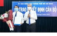 Đồng chí Nguyễn Trí Dũng giữ chức Chủ tịch UBND quận Gò Vấp