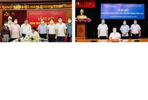 Lễ ký kết Chương trình phối hợp truyền thông giữa Thành ủy TP Hồ Chí Minh và Báo điện tử Đảng Cộng sản Việt Nam
