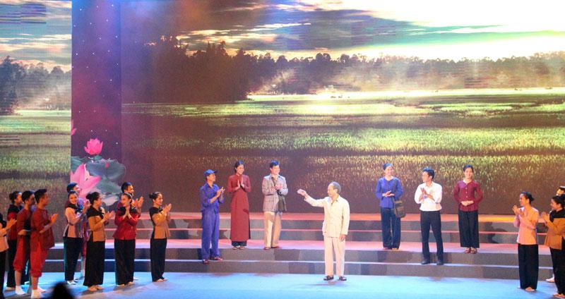 Lễ kỷ niệm trọng thể 60 năm Ngày Chủ tịch Hồ Chí Minh về thăm Bắc Ninh 
