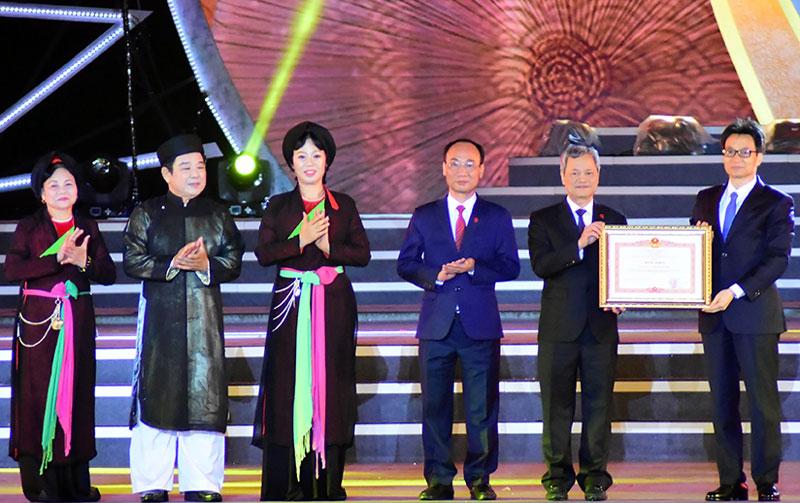Bảo tồn, gìn giữ, phát triển Dân ca Quan họ Bắc Ninh góp phần để nền văn hóa Việt Nam tỏa sáng trong dòng chảy văn minh nhân loại (*)