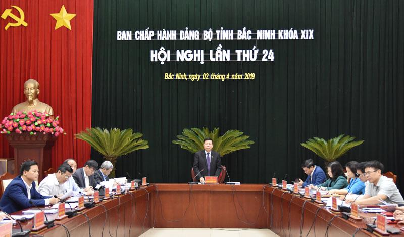 Hội nghị lần thứ 24, Ban Chấp hành Đảng bộ tỉnh khóa XIX