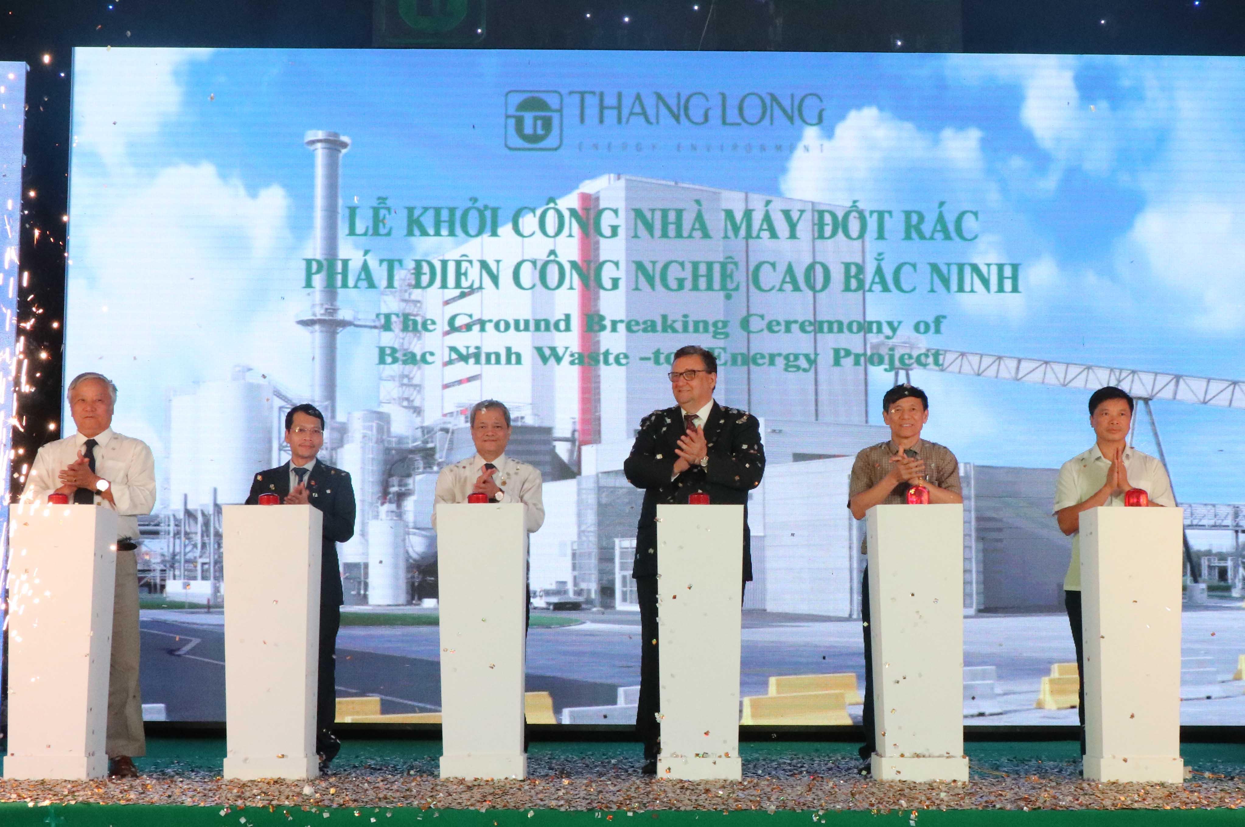 Bắc Ninh xây dựng Nhà máy đốt rác phát điện công nghệ cao trị giá 1.357 tỷ đồng