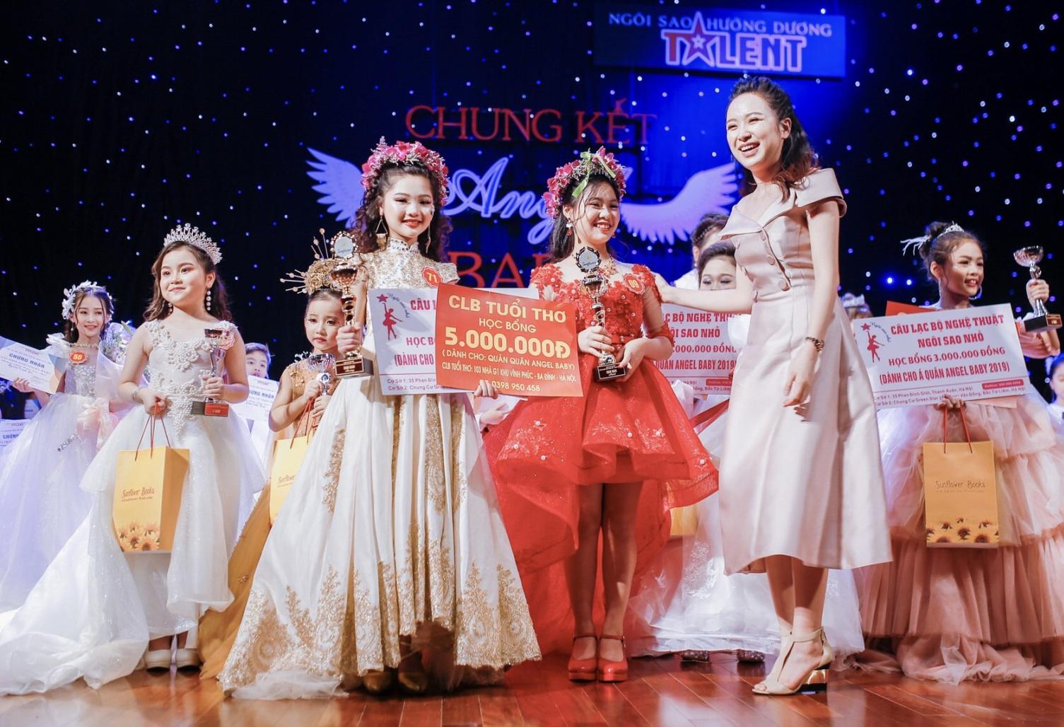 Thí sinh đến từ Bắc Ninh giành giải Quán quân cuộc thi Tìm kiếm Tài năng nhí Angel Baby