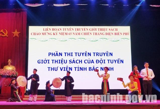 Thư viện tỉnh Bắc Ninh nâng cao chất lượng phục vụ bạn đọc