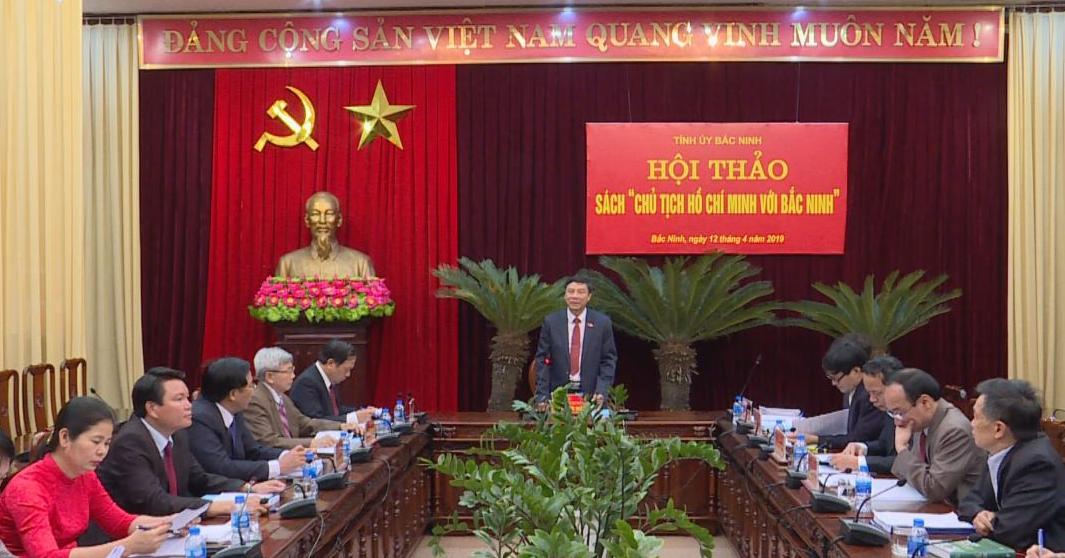 """Phát hành cuốn sách """"Chủ tịch Hồ Chí Minh với Bắc Ninh"""""""
