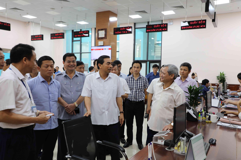 Tỉnh Ninh Bình thăm, trao đổi kinh nghiệm tại Bắc Ninh