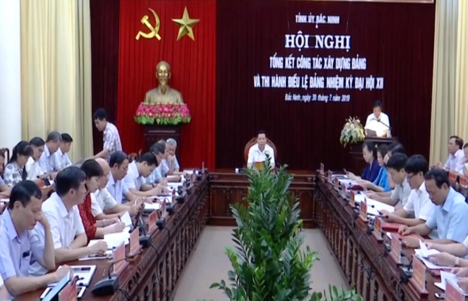 Tỉnh ủy Bắc Ninh tổng kết công tác xây dựng Đảng và thi hành Điều lệ Đảng nhiệm kỳ Đại hội XII