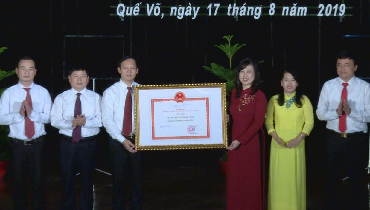 Huyện Quế Võ chính thức đạt chuẩn nông thôn mới