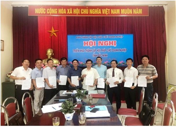 Xúc tiến thành lập Hội pháp chế doanh nghiệp tỉnh Bắc Ninh