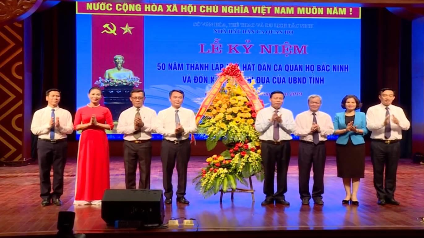Nhà hát Dân ca Quan họ Bắc Ninh kỷ niệm 50 năm thành lập
