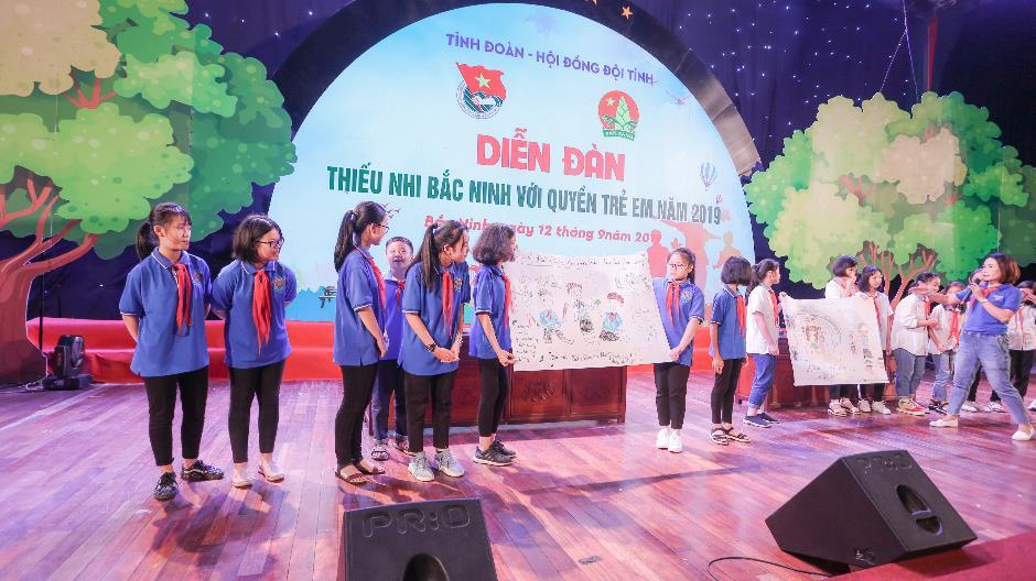 Xây dựng môi trường sống an toàn, thân thiện, bình đẳng và lành mạnh cho mọi trẻ em Bắc Ninh