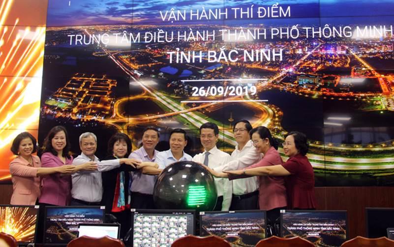 Bắc Ninh vận hành thí điểm Trung tâm điều hành thành phố thông minh