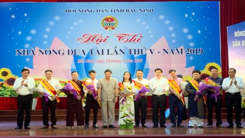 """Hội thi """"Nhà nông đua tài"""" lần thứ V năm 2019: Sân chơi bổ ích của nông dân Bắc Ninh"""