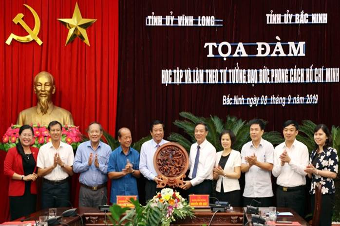 Đoàn công tác tỉnh Vĩnh Long thăm, làm việc tại Bắc Ninh
