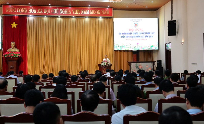 Bắc Ninh nâng cao hiệu quả công tác tuyên truyền pháp luật