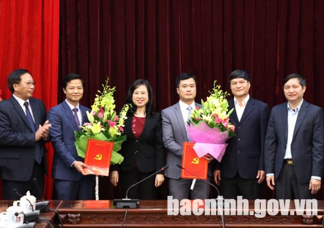 Bắc Ninh công bố quyết định điều động cán bộ