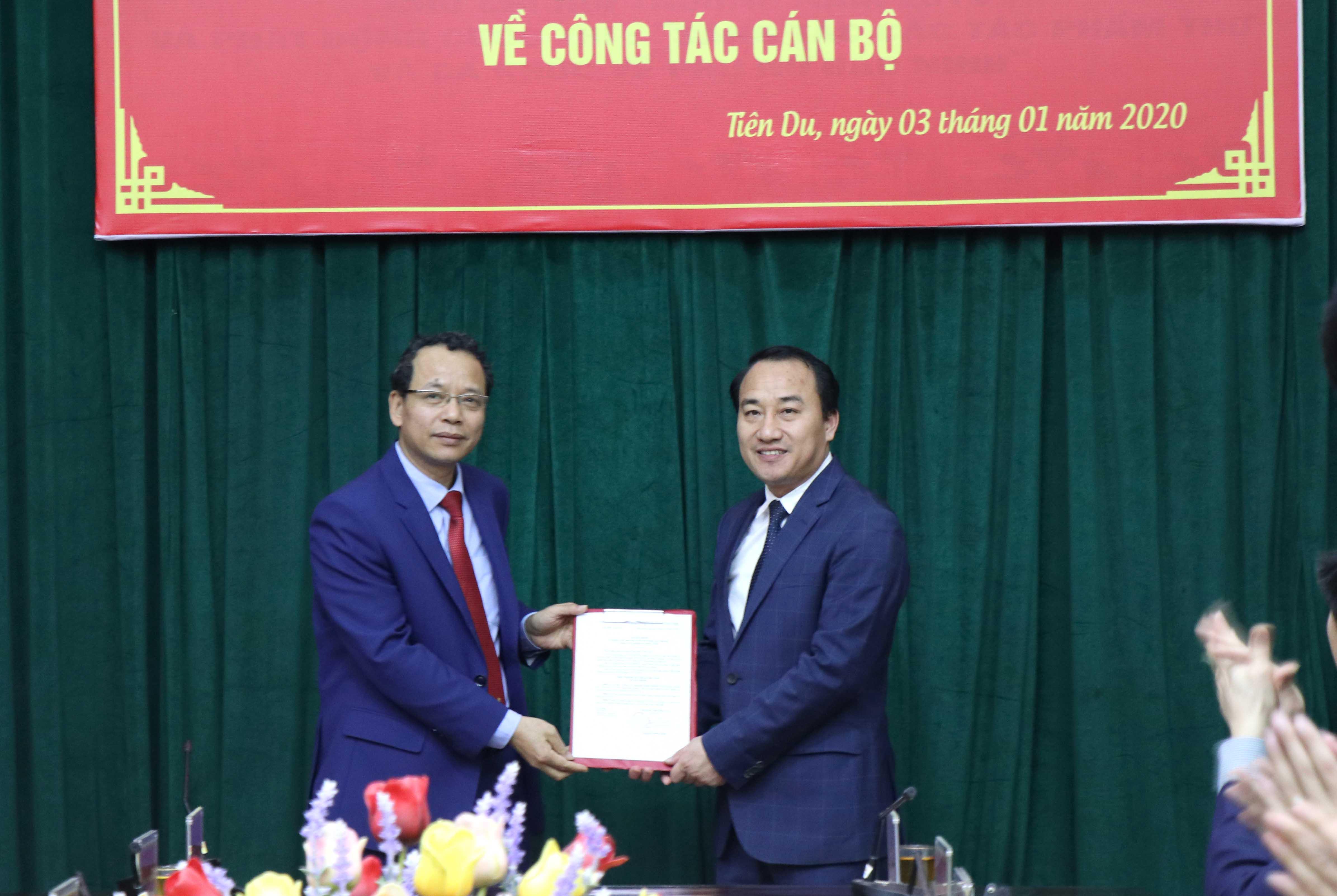 Huyện Tiên Du (Bắc Ninh) có Bí thư Huyện ủy mới