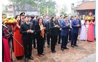 Lãnh đạo tỉnh dâng hương tại Văn Miếu Bắc Ninh